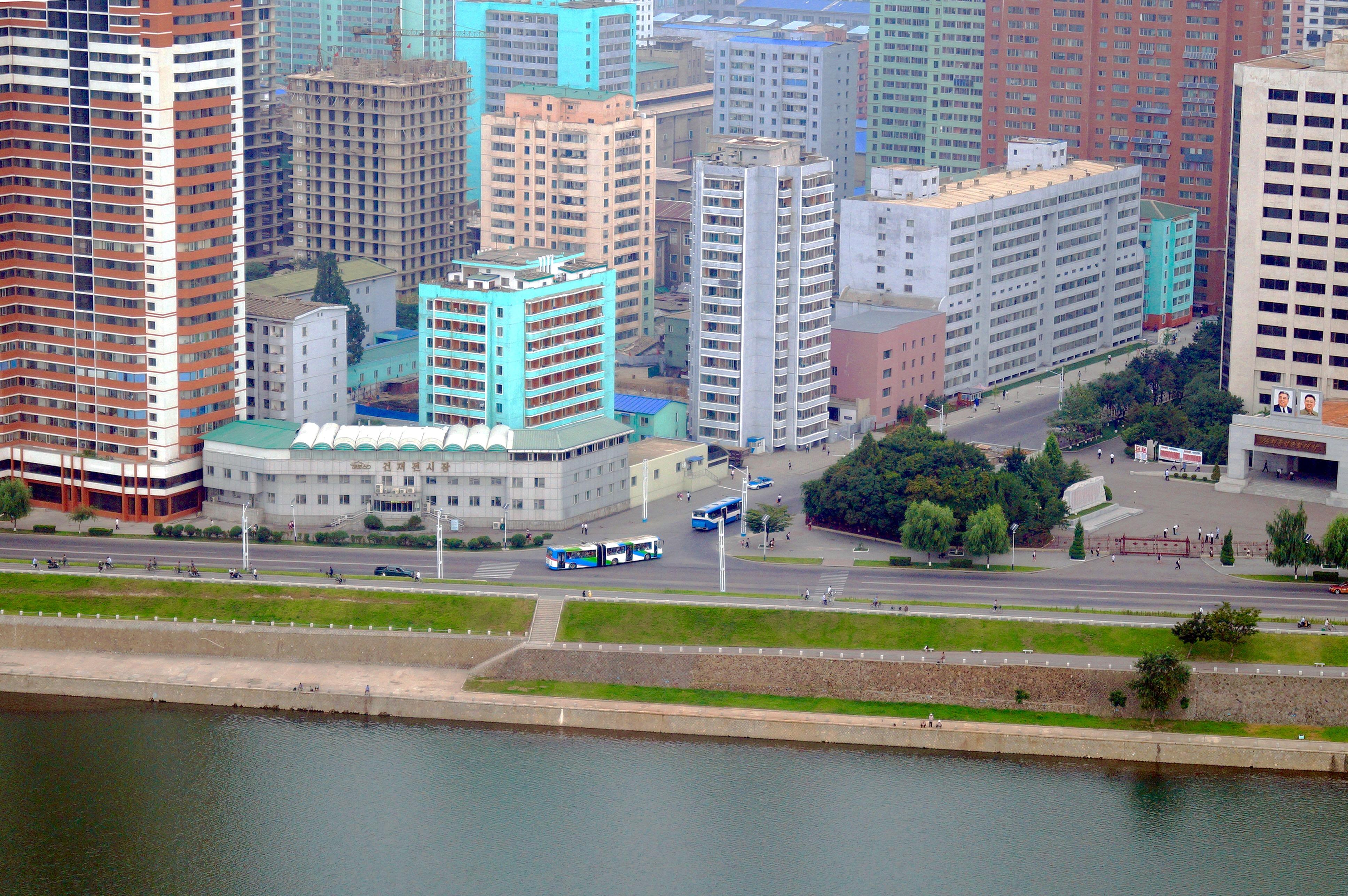 Северная Корея. Отель