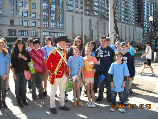 Touring the Boston Freedom Trail