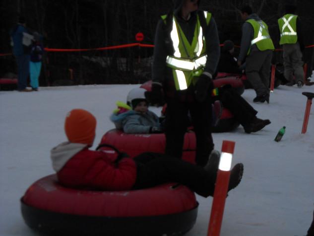 Corps Snow Tubing Fun