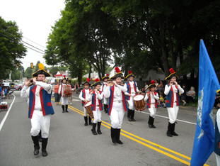 Marching through Town