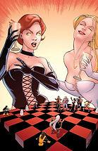 White Queen Black Queen Hellfire club X men chess