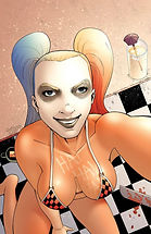 Harley at the Beach bikini