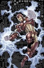 Iron Man Robert Downey Jr Movie Armor AC DC