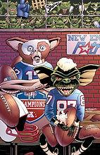 Gremlins Gizmo NFL NE Patriots cheaters deflategate