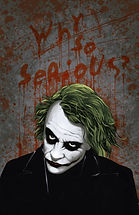 Heath Ledger Joker Why so serious