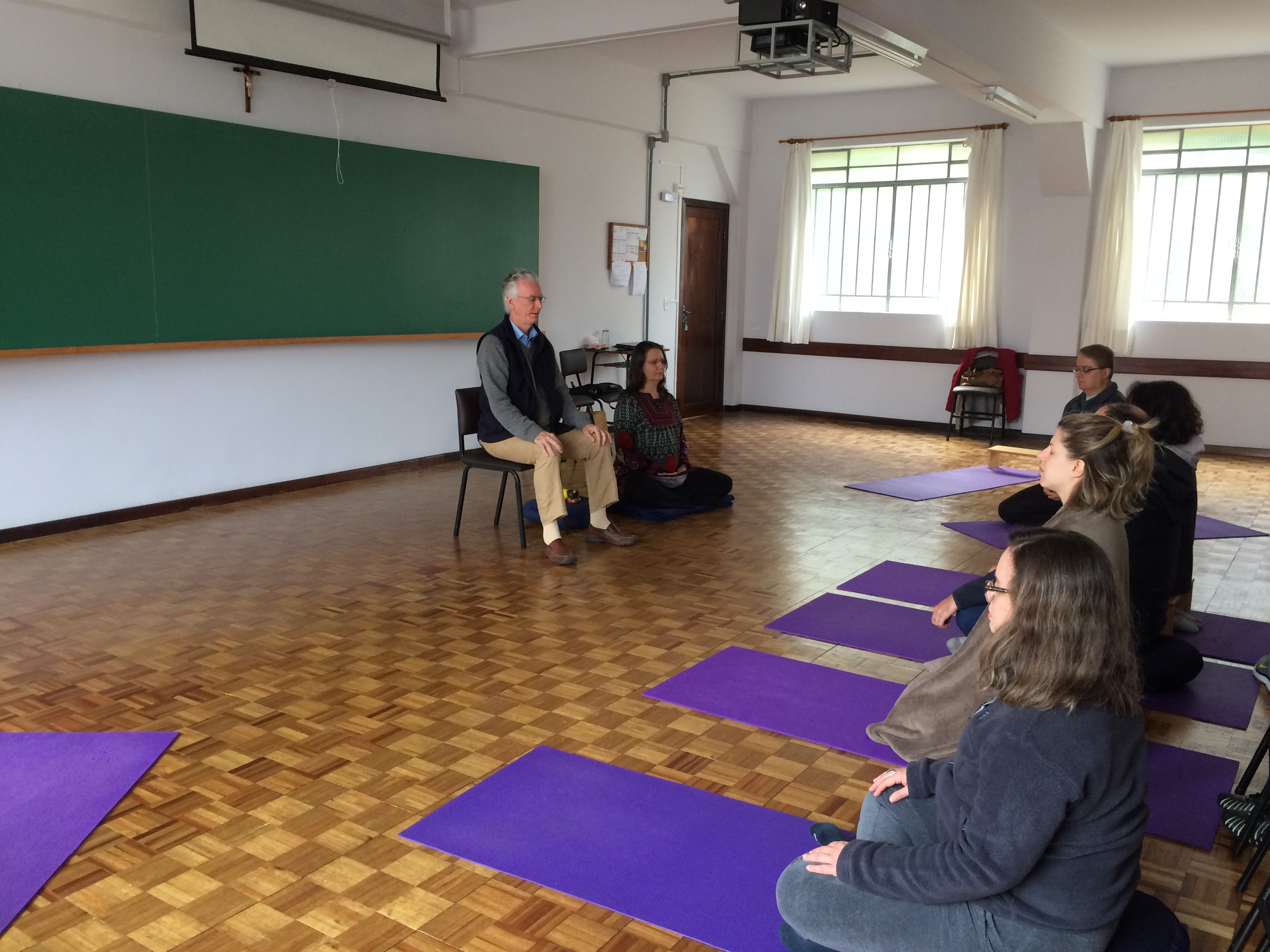 Prática com Jangchub e Verena Reid 17/05/2015