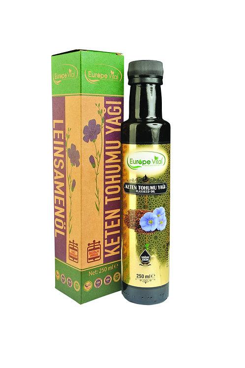 Keten Tohumu Yağı-Flax Seed Oil - زيت بذور الكتان