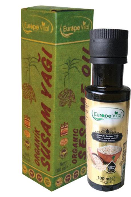 Organik Susam Yağı-Organic Sesame Oil - زيت السمسم العضوي