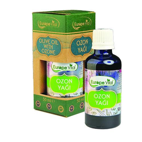 Ozon Yağı- Ozonated Olive Oil -  زيت الأوزون