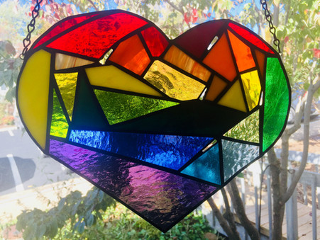 A Reflection on Stained Glass: