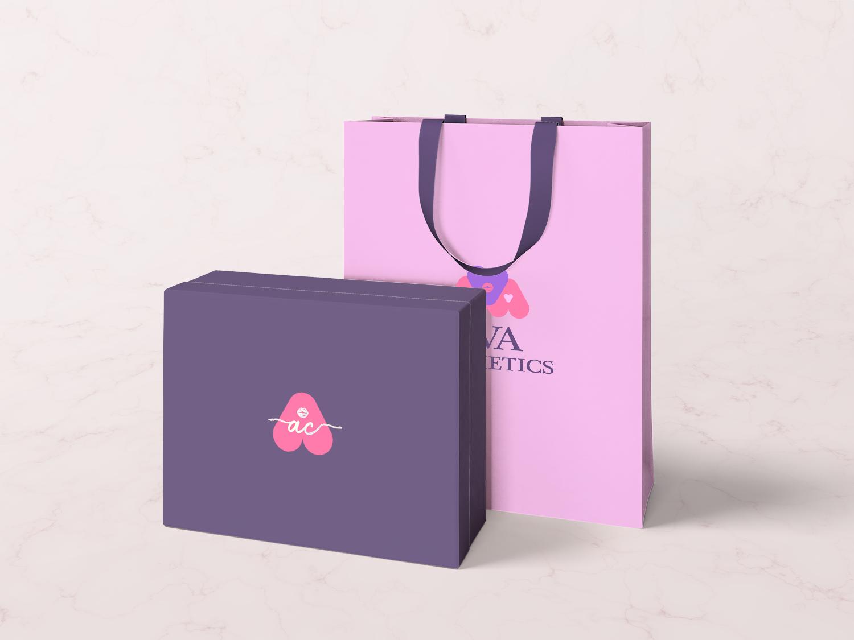 Paper bag and box