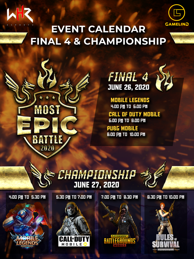 TOURNAMENT POSTER