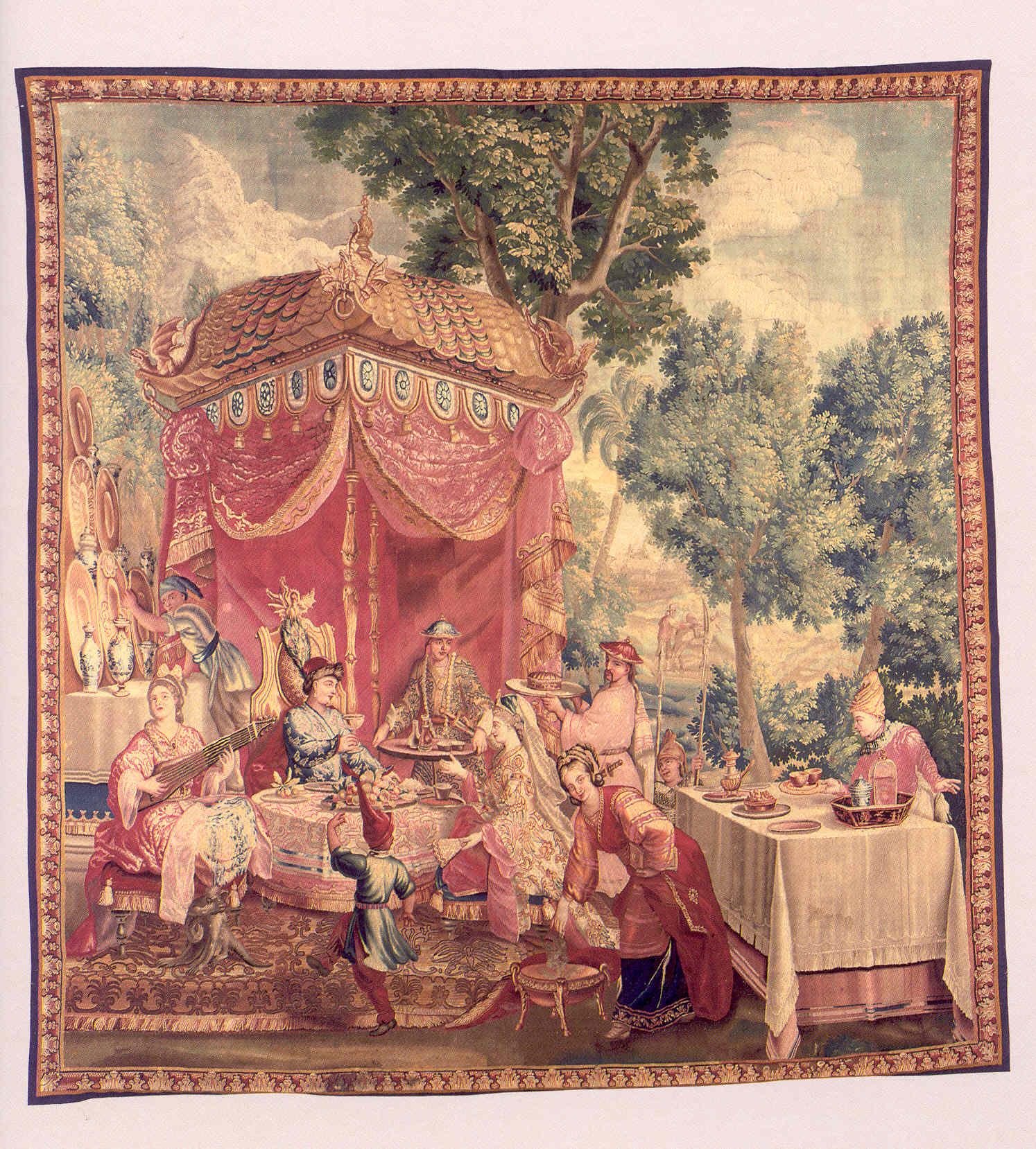 Tapiz - Manufactura Beauvais h. S.XVII
