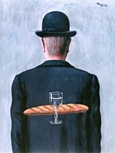 L`ami intime - René Magritte