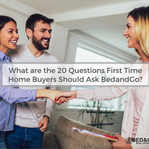 What are the 20 Questions First Time Home Buyers Should Ask BedandGo?