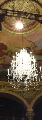 The ceiling of the opéra-théâtre de Clermont-Ferrand