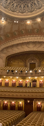 The Vichy opéra from the stage