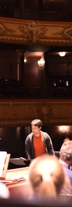 Rehearsing at the opéra-théâtre de Clermont-Ferrand