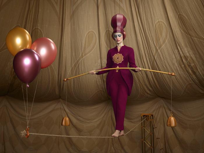 Circesque, L'equilibrista