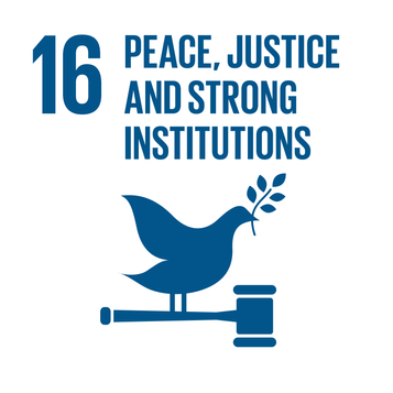 SDG16: Peace, Justice & Strong Institutions