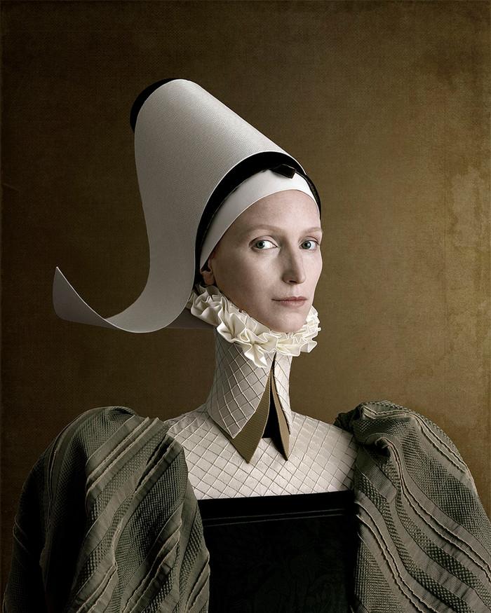1503, Ritratto di signora in verde