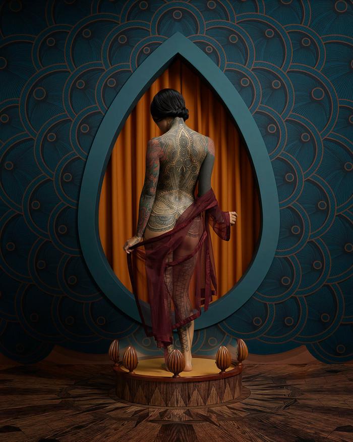 Circesque, La ragazza tatuata