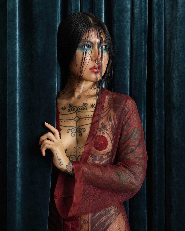 Circesque, La ragazza tatuata (portrait)