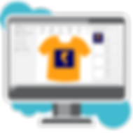 create a t-shirt design online using PC.