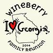 reunion tshirt featuring a state, Georgia. I love Georgia