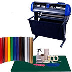 Vinyl Cutting machine and supplies