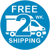 Free two week ground shipping.