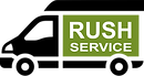 Rush service delivery truck