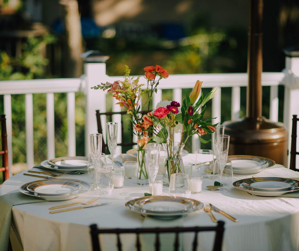 Garden Party Table Scape