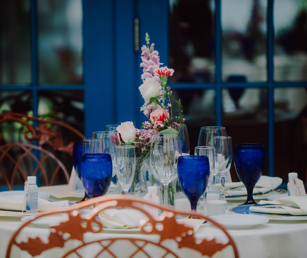 Garden Wedding at Rat's Table Scape