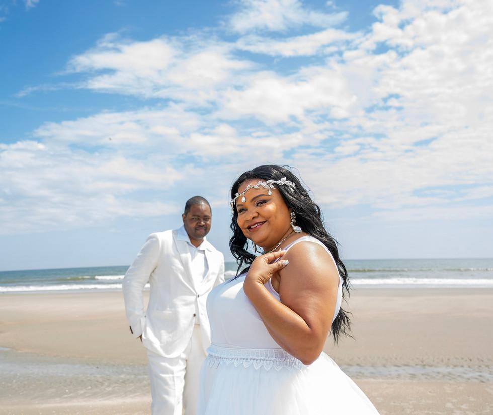 Classic Beach Wedding in North Carolina
