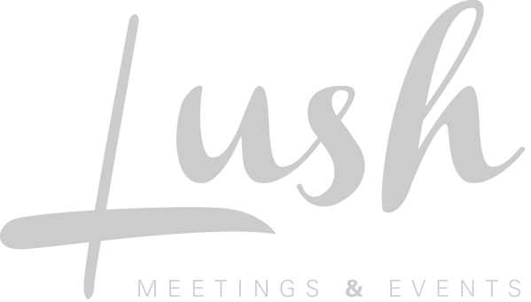 lush meetings and events planner