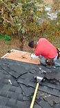 Valley Shingle Repair