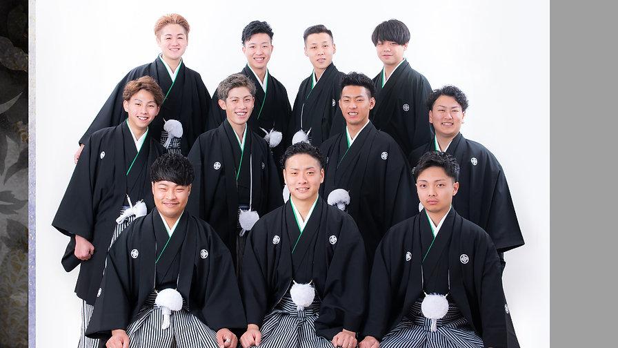 高知の成人式 男性用紋付羽織袴 レンタル きもの処公文