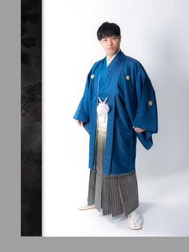 成人式男性紋付羽織袴 きもの処公文