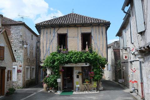 Medieval-house Issegiac.