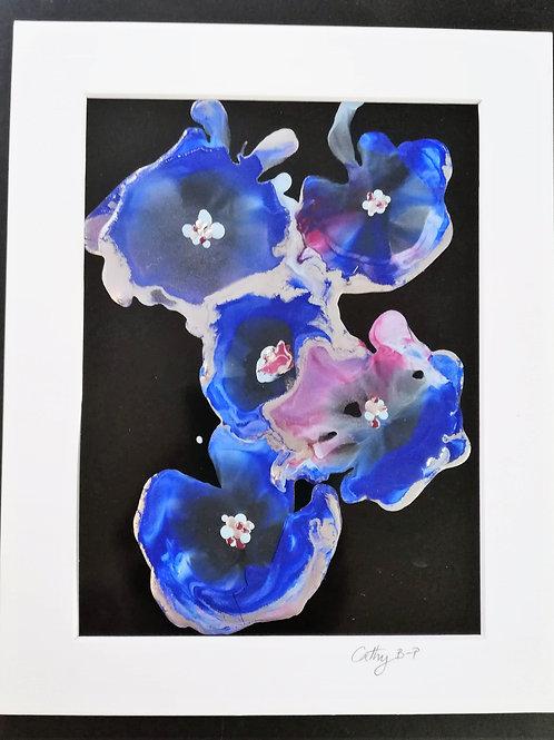 Amoeba - encaustic wax