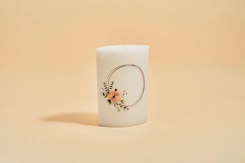 Blume apricot rosegold