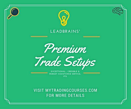 Premium Trade Setups (PTS)