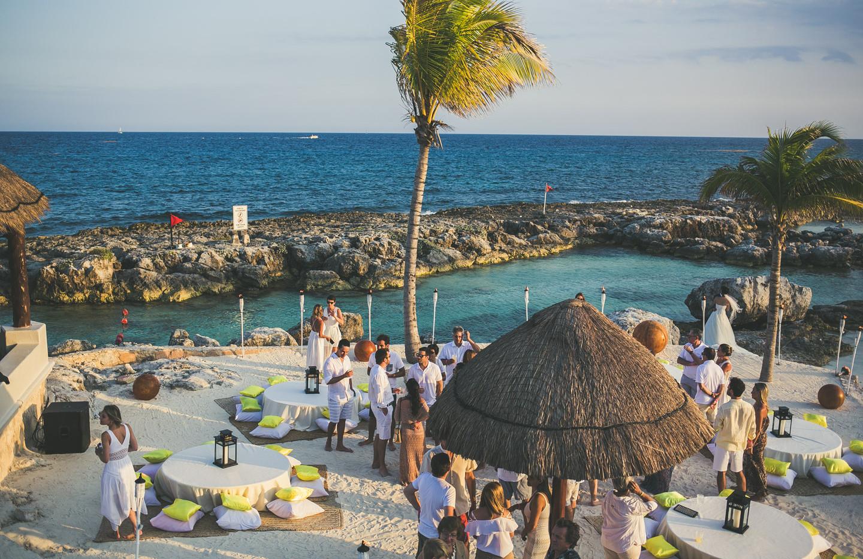Luau em Riviera Maya - Carol + Bruno
