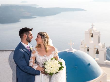 Carolina + Nasser - Grécia