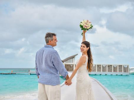 Elopement Wedding Maldivas -     Fernanda + Daniel