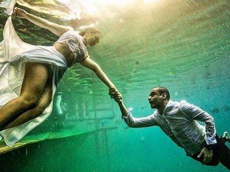 Pré Wedding Subaquático