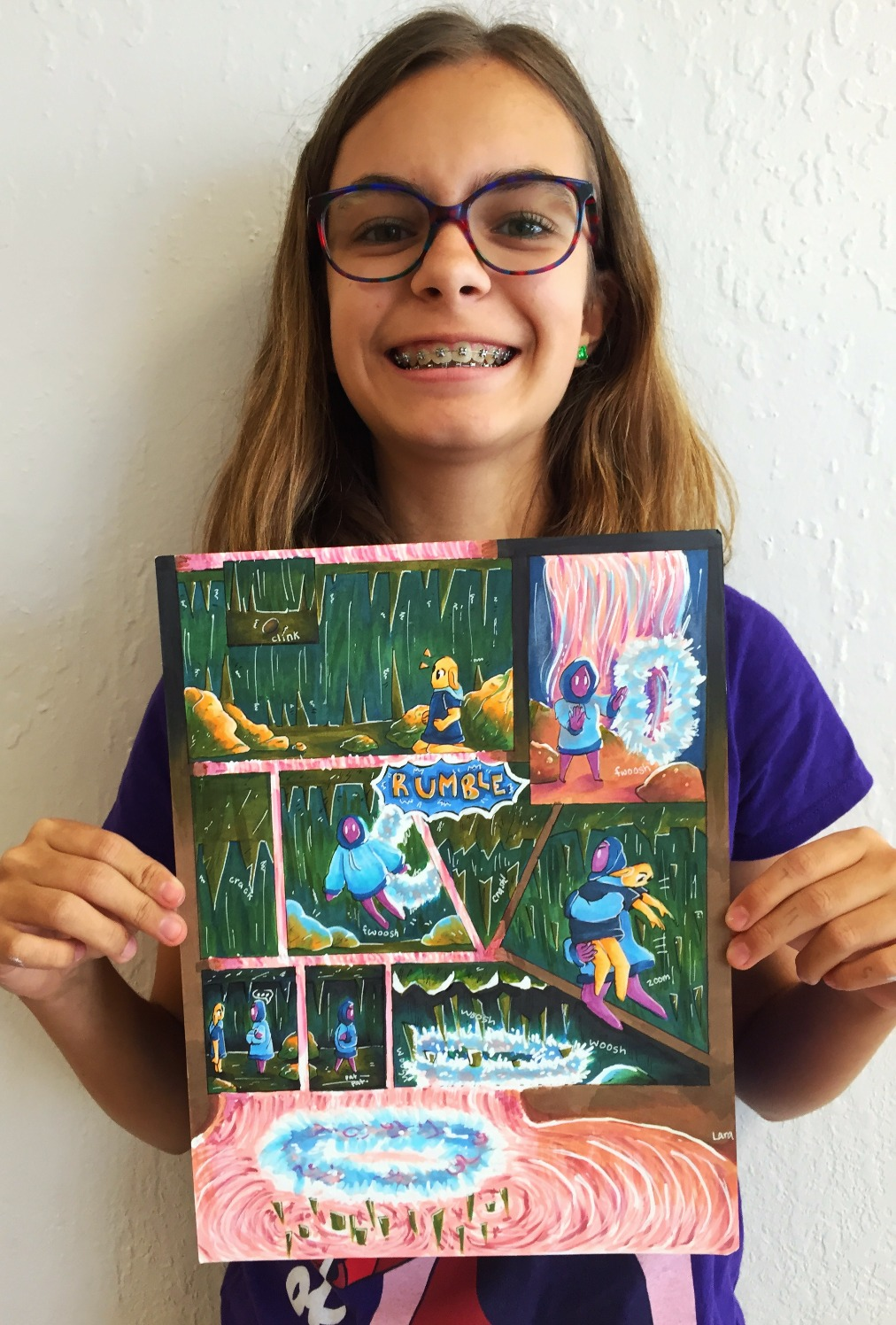 Comic Art Summer Camp