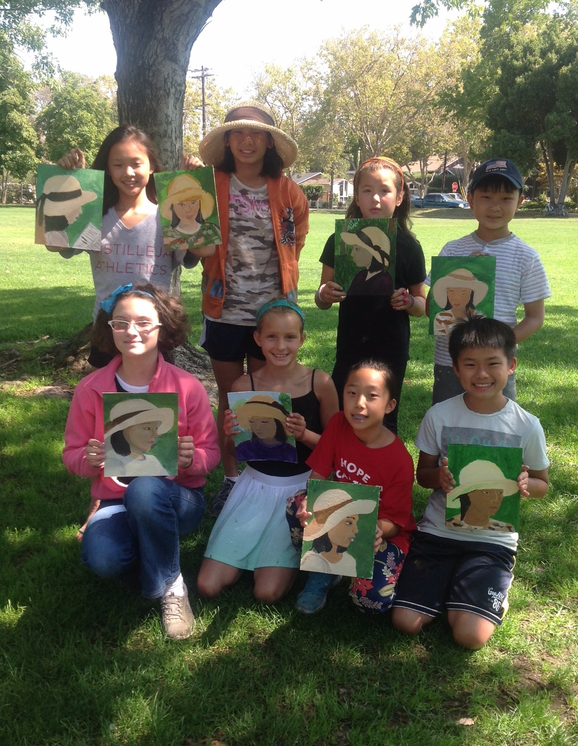Art Camps Portrait Painting