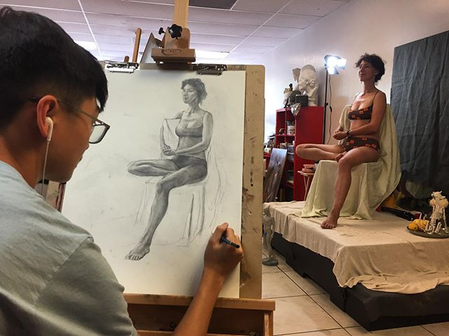 Figure drawing workshop ended today